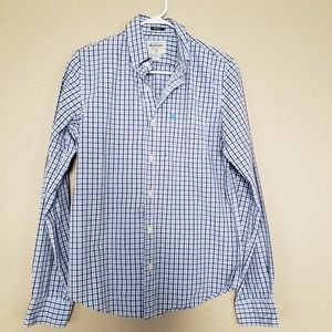 Abercrombie & Fitch Plaid Button Down Shirt Size M